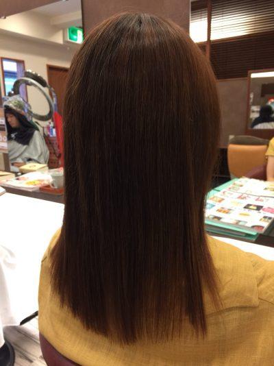 キレイ髪ストレート(髪質改善・弱酸性縮毛矯正)